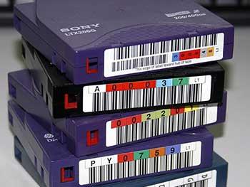 custodia backup tape management tape vaulting